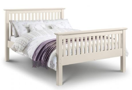 Cameo White King Size Bed High Foot End Sale Now On Your Price Furniture